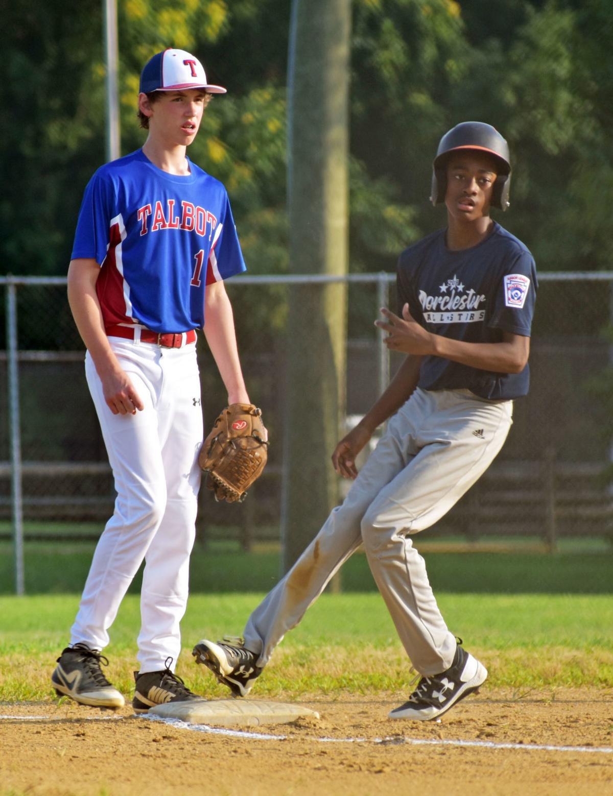 2019 District 6 Junior League Baseball Championship: Dorchester vs. Talbot, July 9, 2019