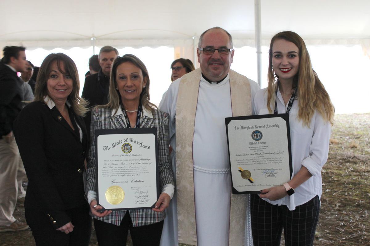 Saints Peter & Paul parish breaks ground for new high school