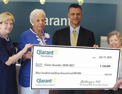 Qlarant hosts virtual grant awards event