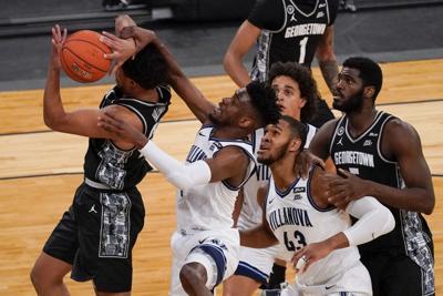 APTOPIX BEast Georgetown Villanova Basketball