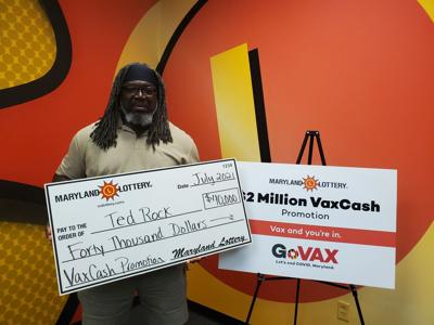 Caroline County man claims $40,000 VaxCash prize