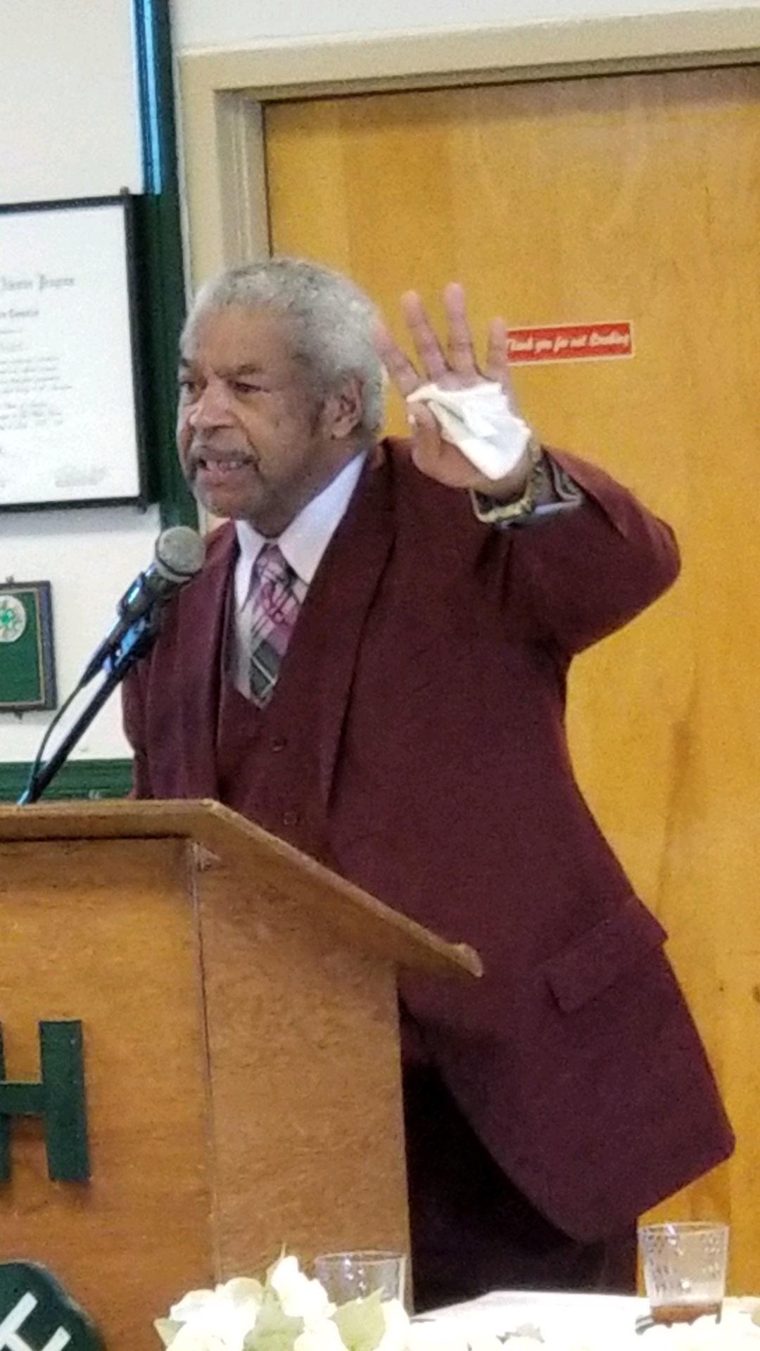 State NAACP president visits Caroline