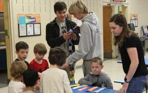 Students get a slice of mathematical 'pi'