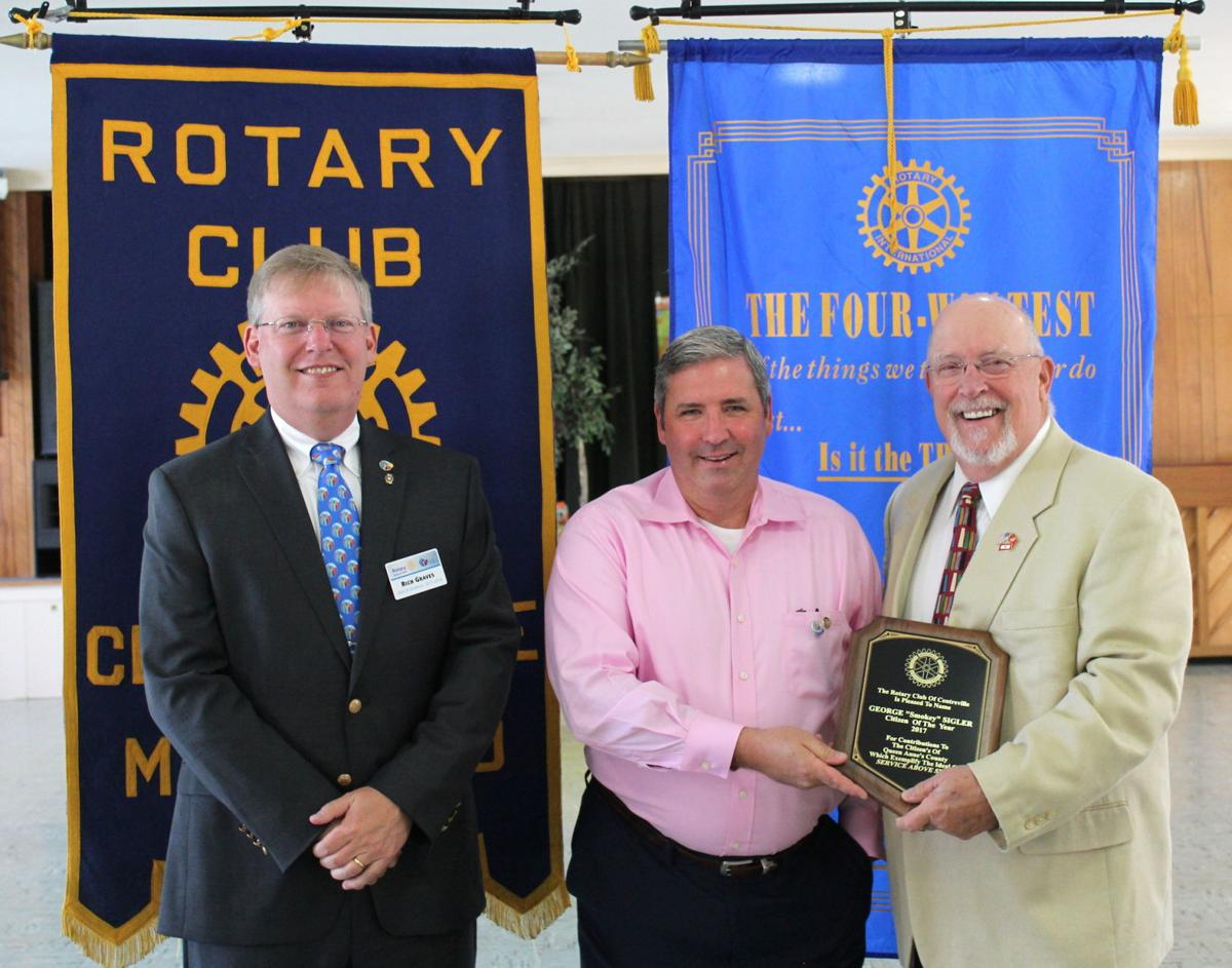Sigler receives Citizen of the Year Award