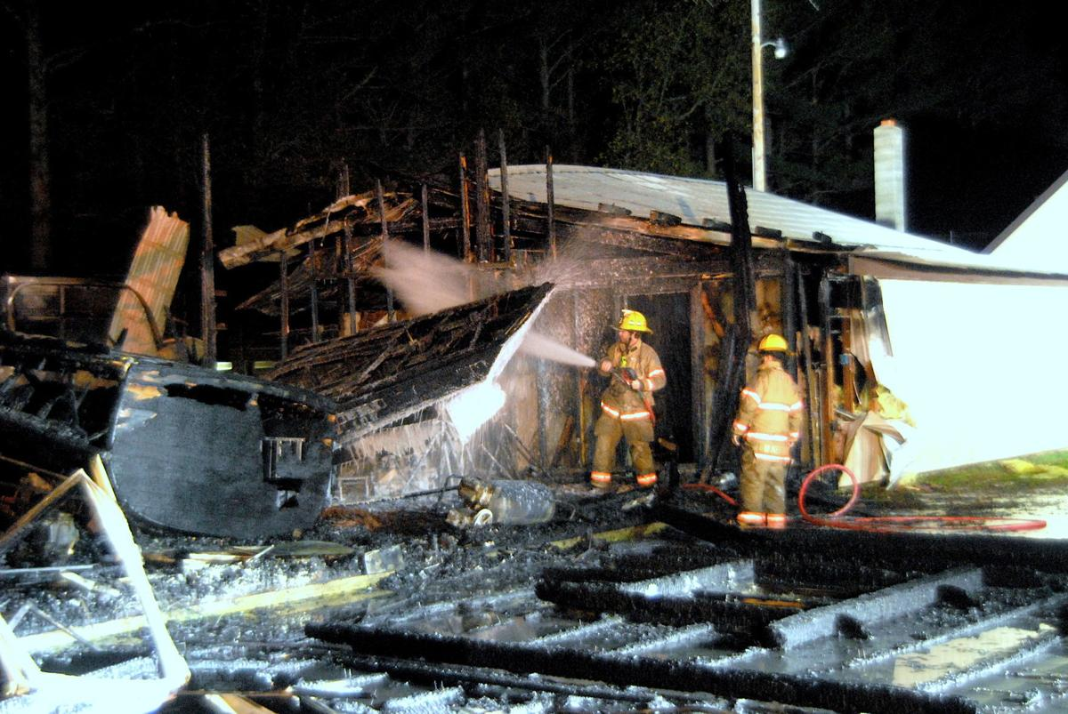 Fire destroys barn in Trappe