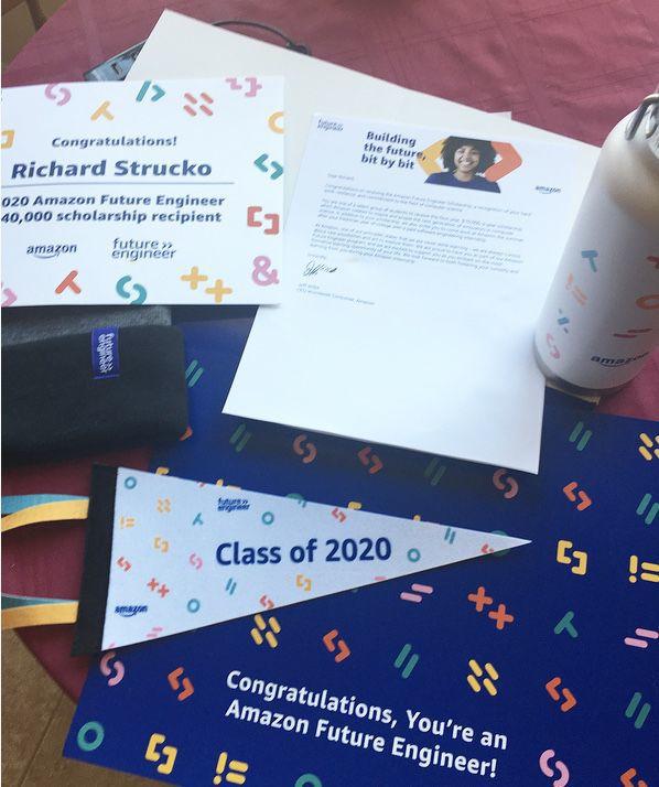 Kent Island High School Graduate receives $40,000 Amazon Scholarship