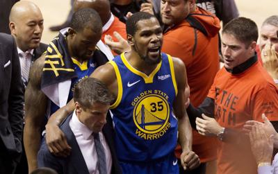 Durant has surgery for ruptured Achilles