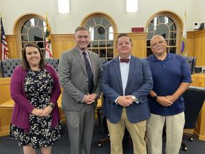 Hellos and goodbyes for Centreville Town Council