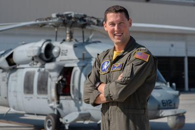 Trappe native serves with Navy helicopter squadron