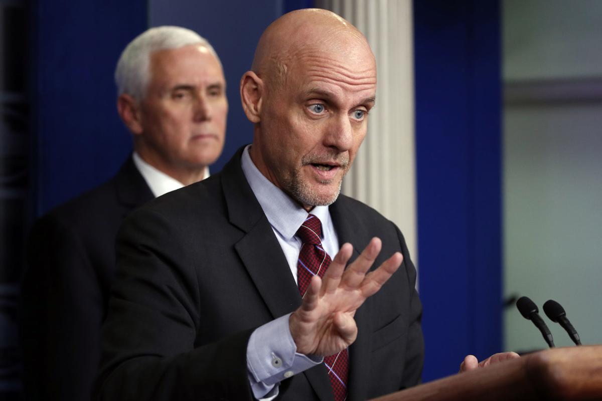 Virus Outbreak White House