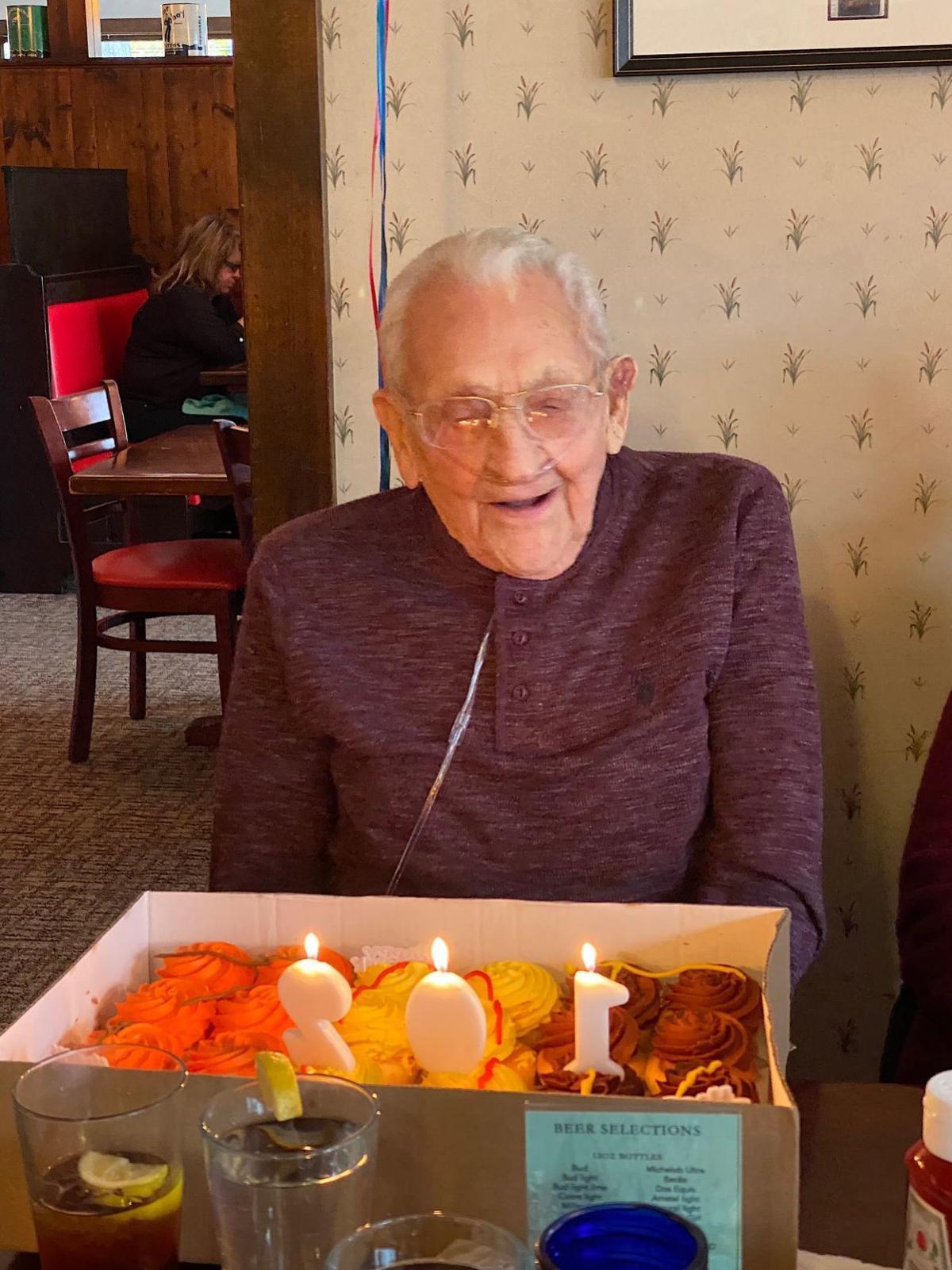 Leonard Rieck turns 102