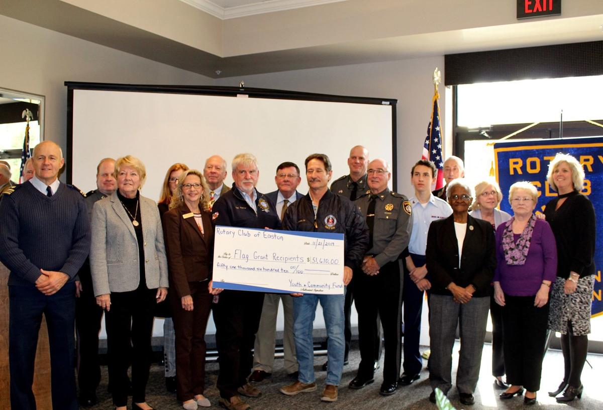 Rotary Club of Easton awards more than $50K to local organizations