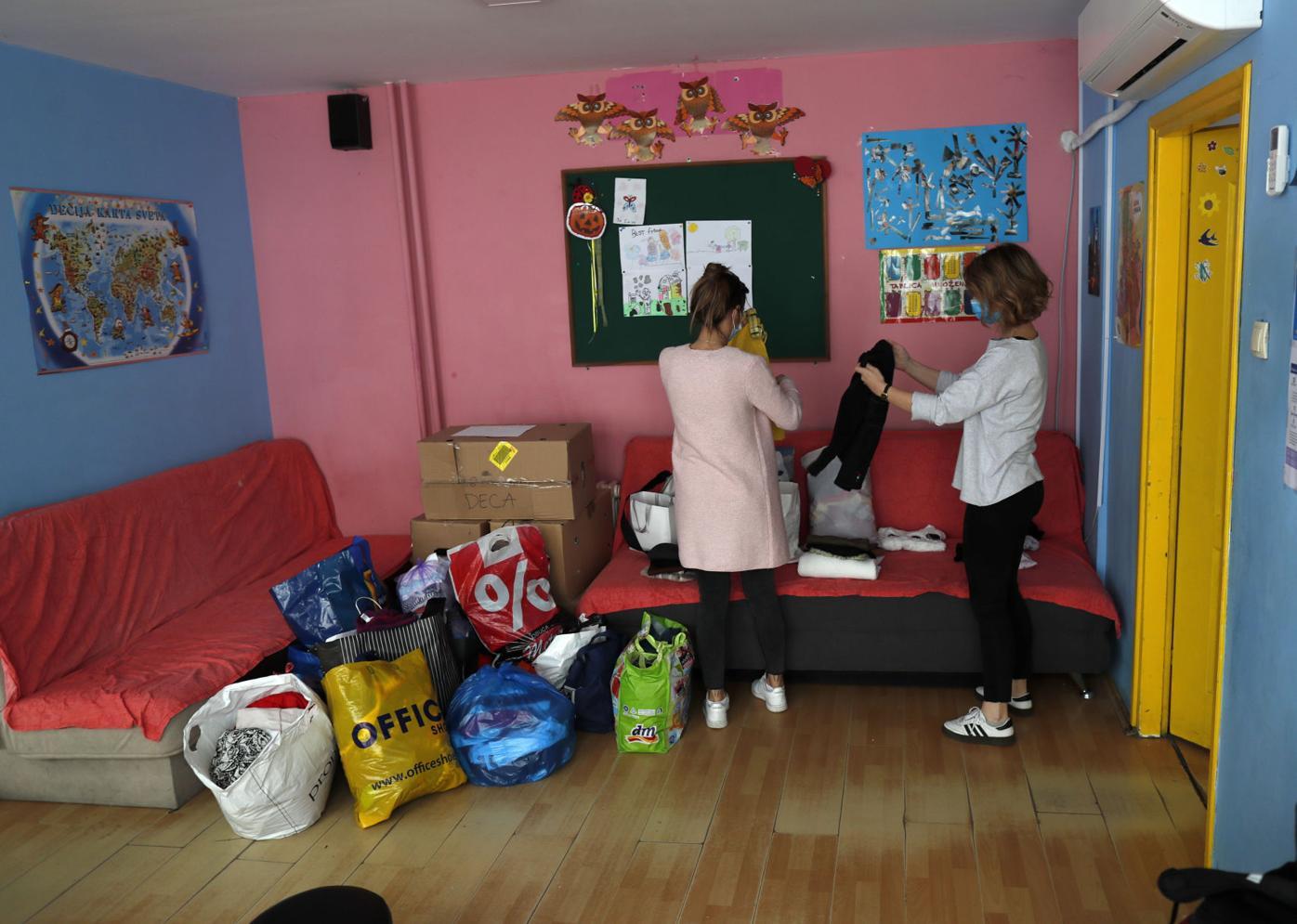 Virus Outbreak One Good Thing Belgrade Day Care