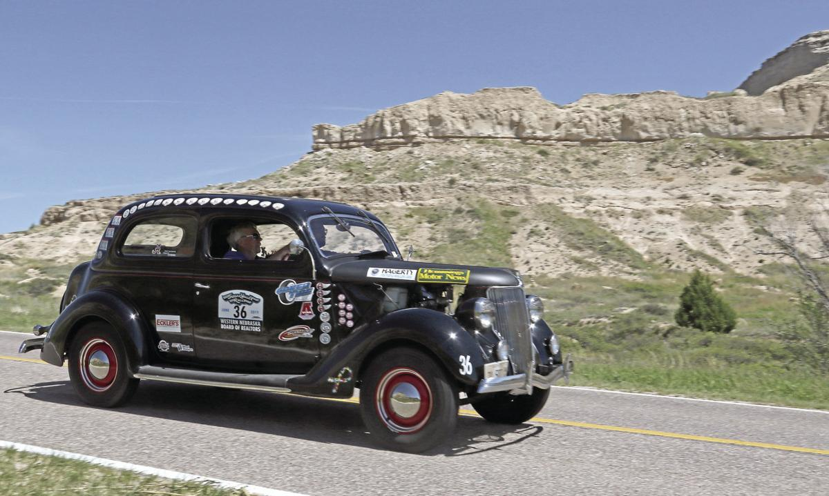 PHOTOS: Sugar Valley Rally passes the Scottsbluff National Monument