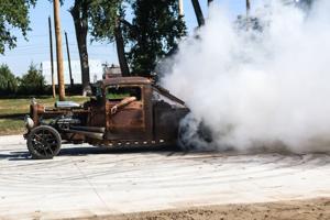 Rat rodders feel the burn during High Plains Riot