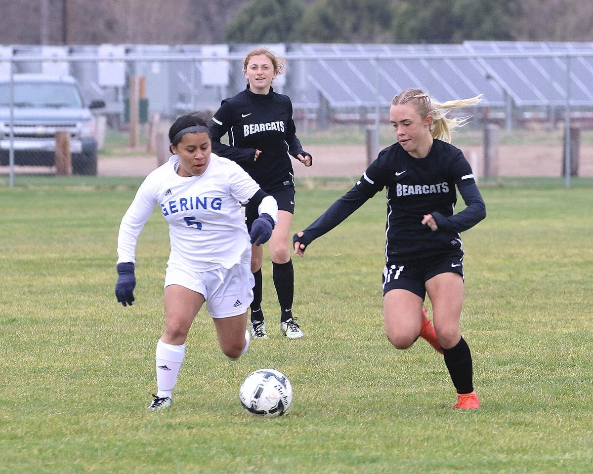 Foote scores four, Scottsbluff girls top Gering 9-1