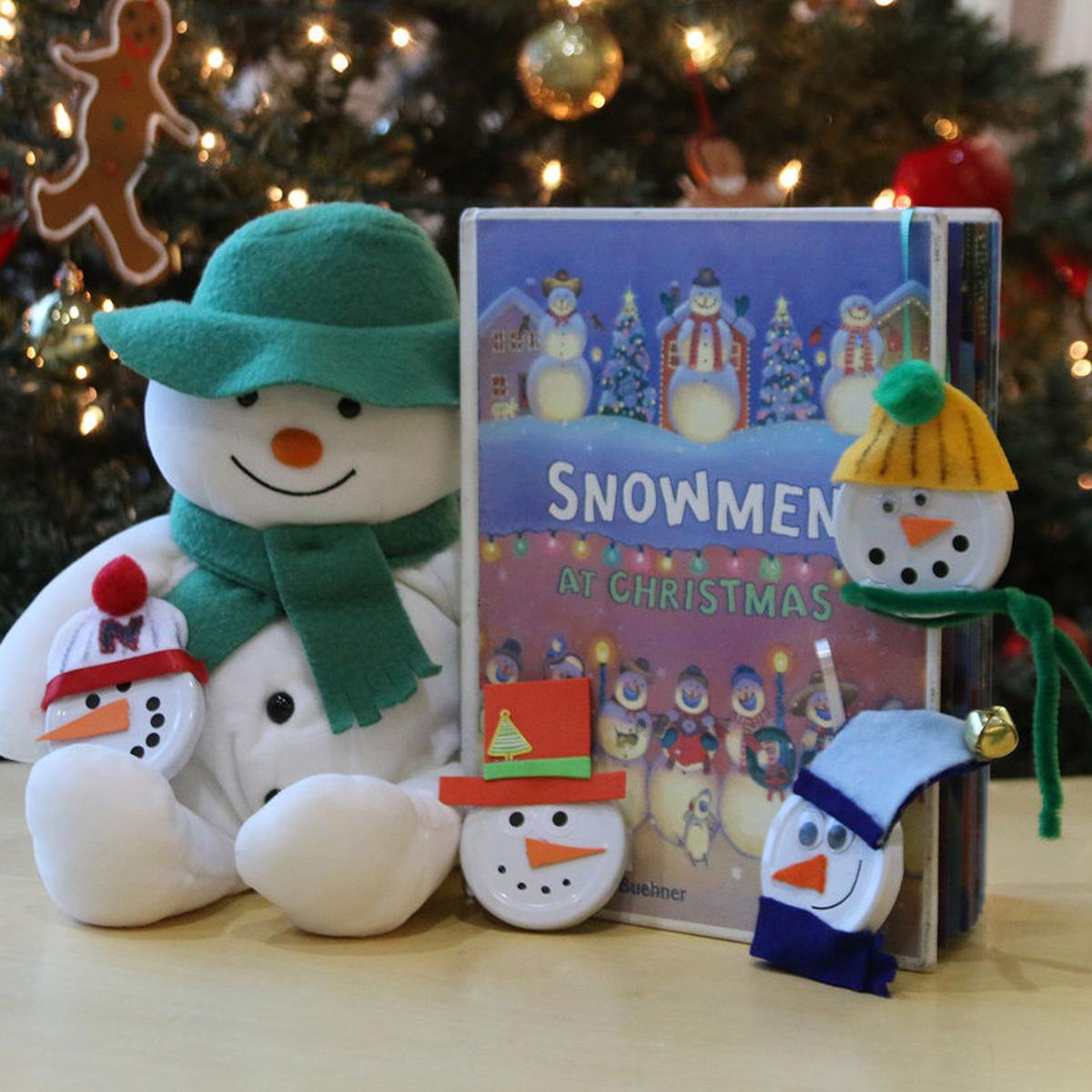 Snowmen At Christmas.Library Holiday Party Will Carry Snowmen Theme Local News