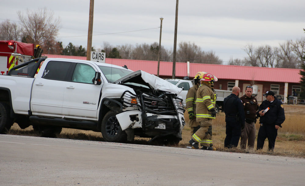 Nebraska State Patrol investigating two-vehicle crash