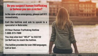 Task force educating the public on prevalence of human trafficking