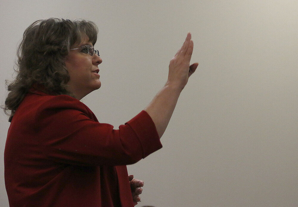Longtime district administrator interviews for superintendent position
