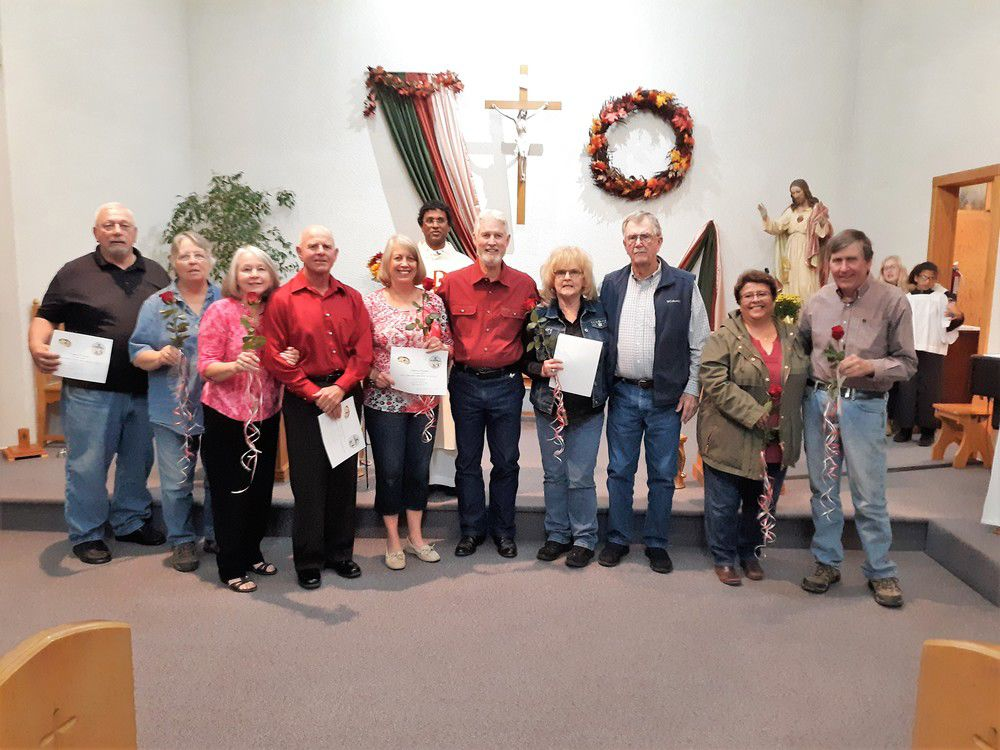 Catholic churches recognize married couples