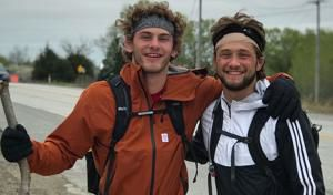 Husker wrestlers walk 100 miles from Lincoln to Omaha and back. With no sleep.
