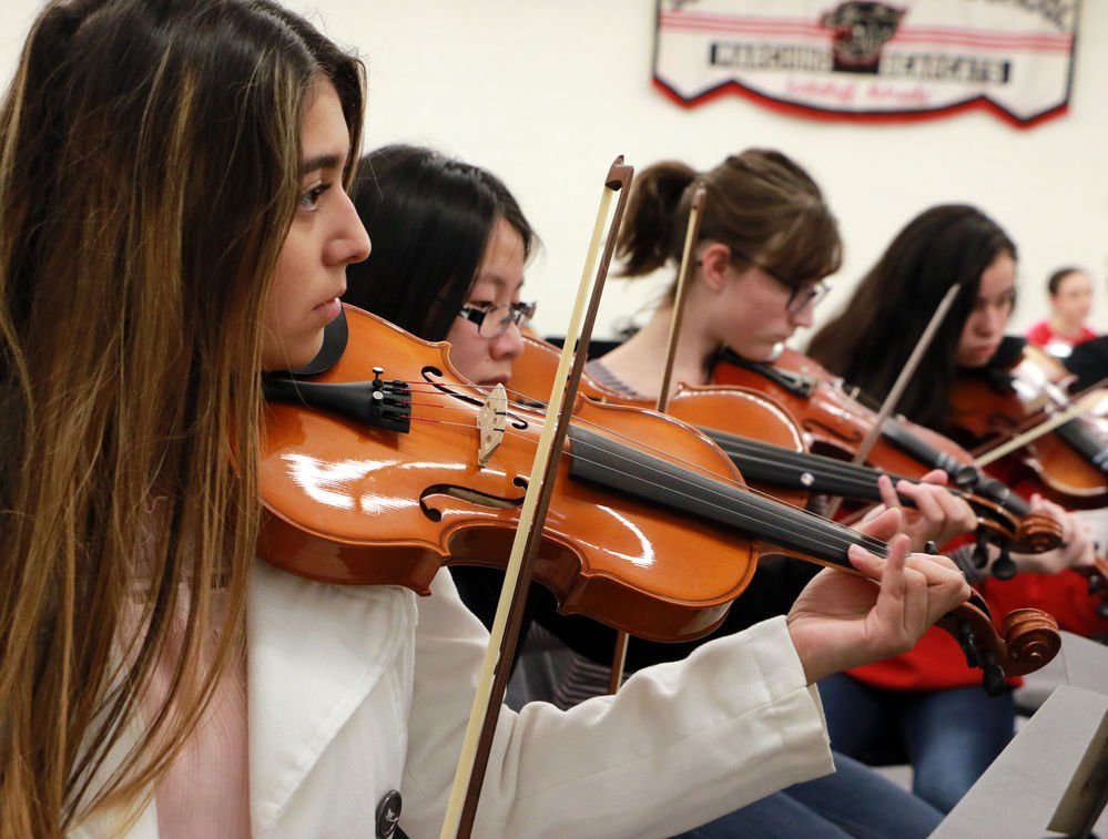 SHS orchestra students to perform 'The Phantom of the Opera'