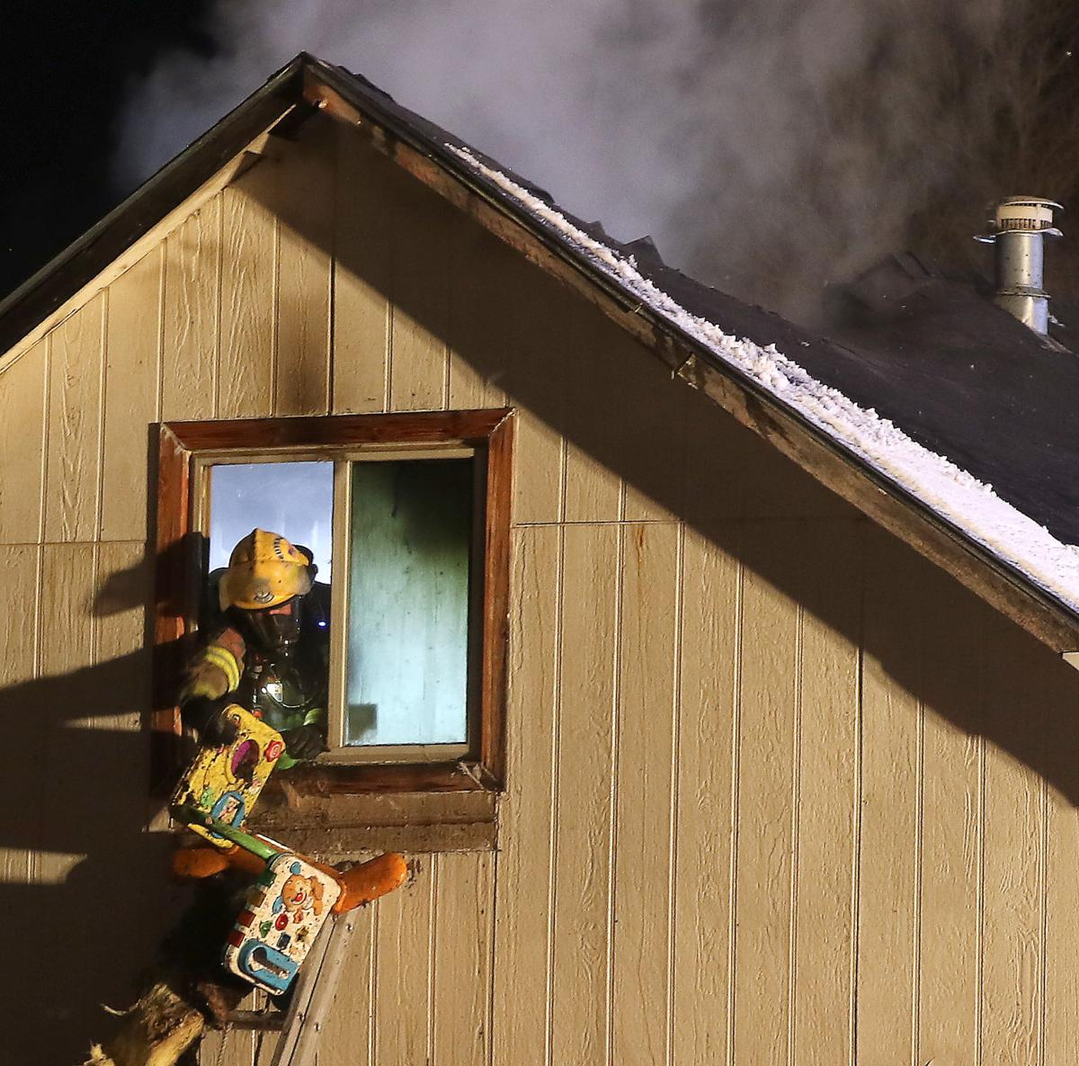 Family of five displaced in Gering fire; space heater cited as cause