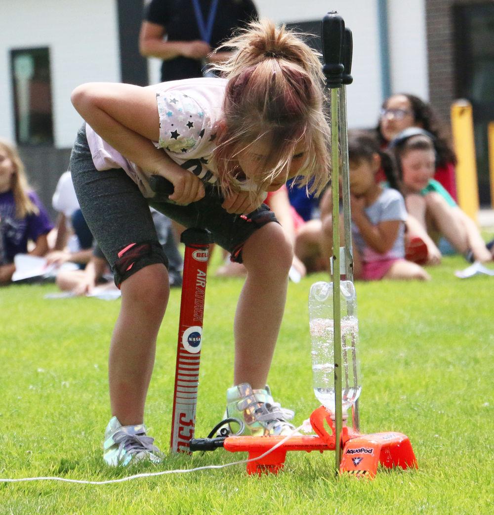 Blast Off! Morrill kids play a role in NASA presentation