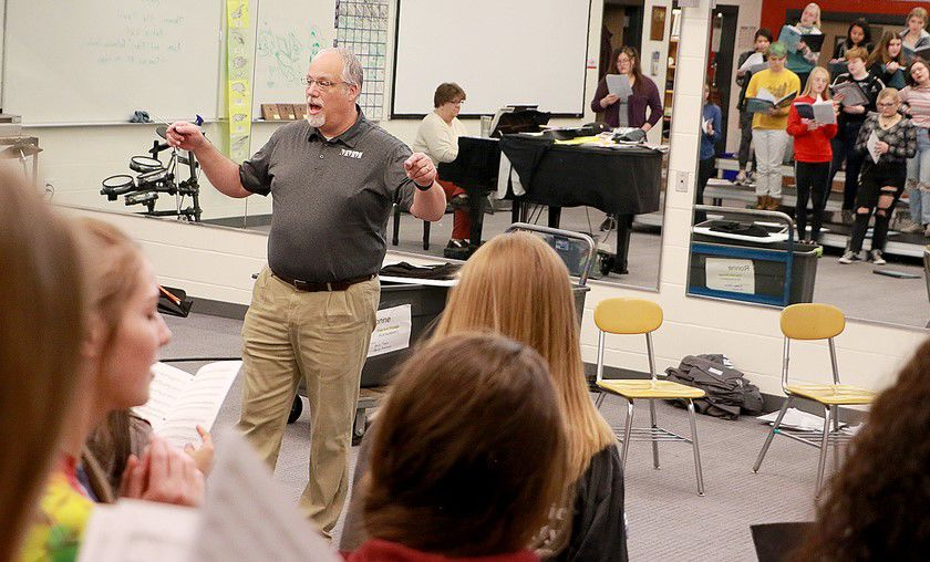Teaching beyond the notes: Brad Ronne named Outstanding Music Educator of the Year