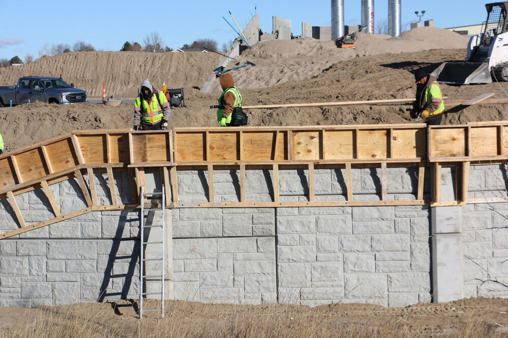 'It's like a big jigsaw puzzle:' Pathway overpass foundation work underway