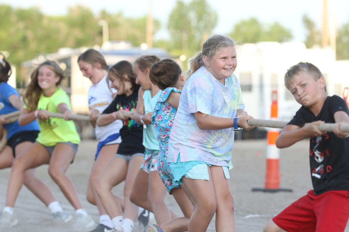 PHOTOS: Chore Time Relay and Tug of War