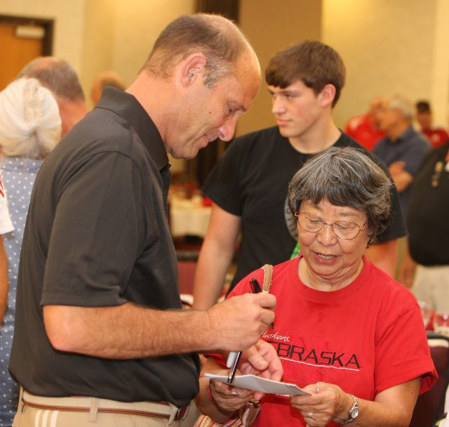 Mike Riley makes first trip to Nebraska Panhandle