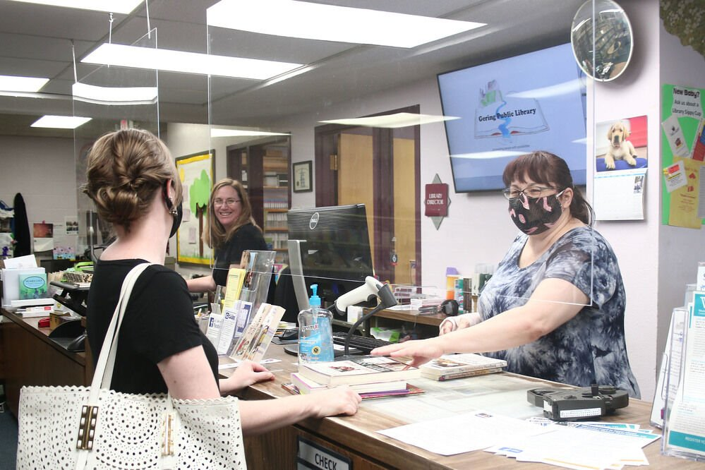 Gering Public Library prepares for school year under pandemic