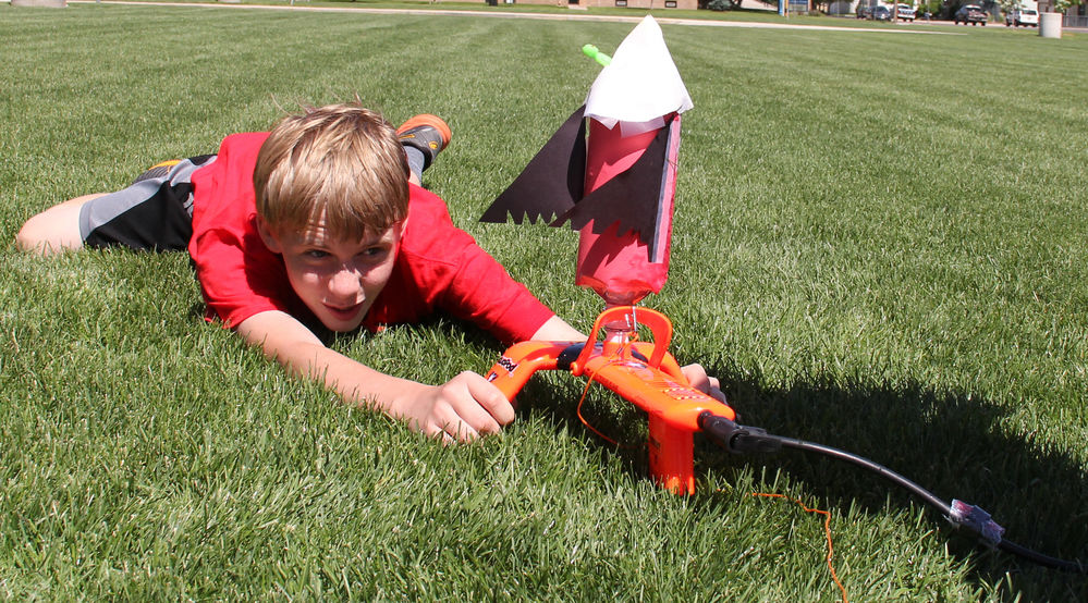 Kids 'blast off' to Mars in local camp