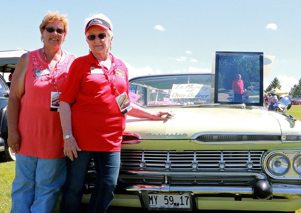 Bolzer brings father's car to Gering Father's Day Car Show Classic