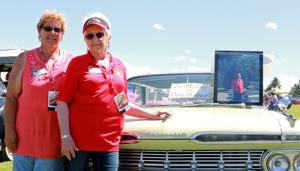 Days after her dad was killed in a traffic farm accident, Lynn Bolzer brings his car to Father's Day Classic Car Show