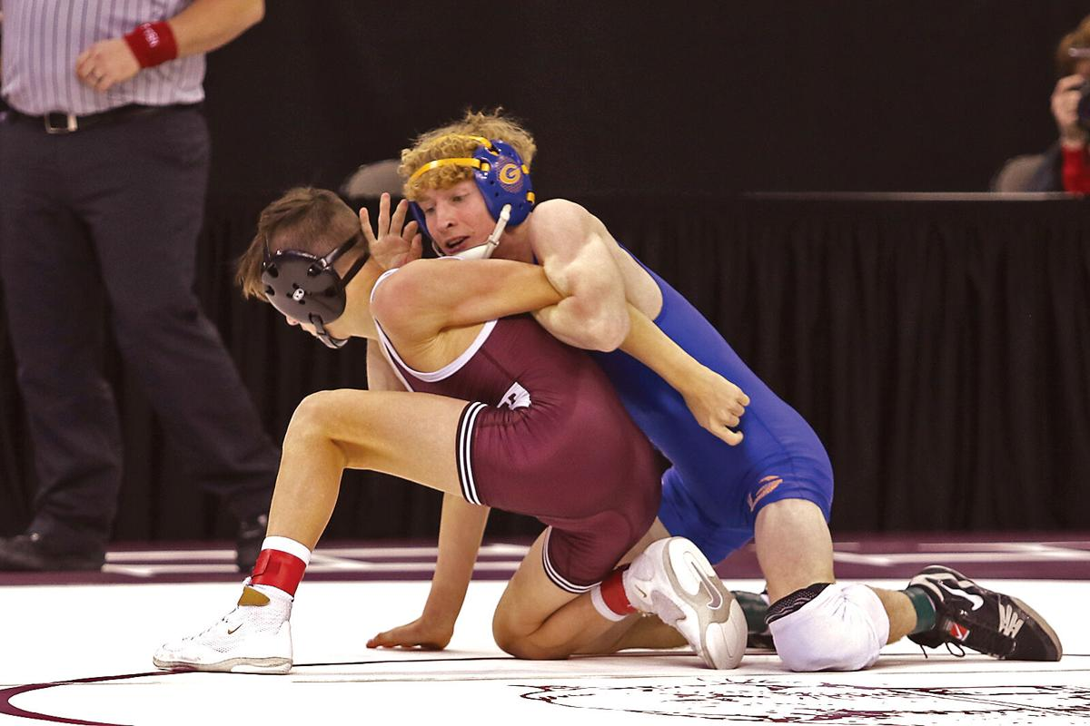 Gering in first after first round of NSAA State Wrestling Championships