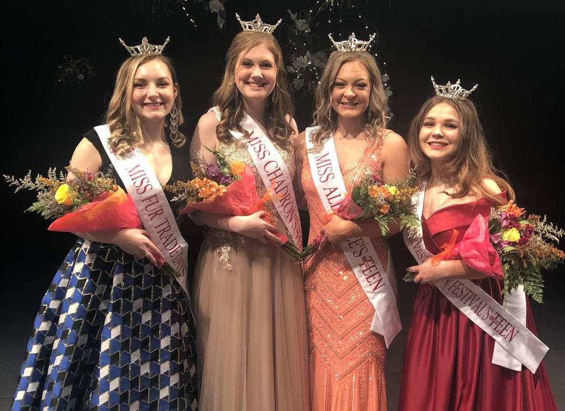 Wright Named Miss Harvest Moon's Outstanding Teen during the Best of the West Competition