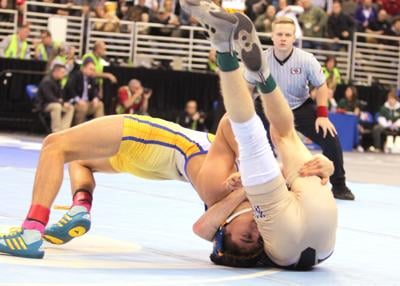Three Gering wrestlers join Scottsbluff's Paul Garcia in the state wrestling finals