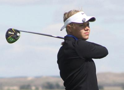 3-peat! Schlaepfer leads Gering golfers to third straight Western Conference title