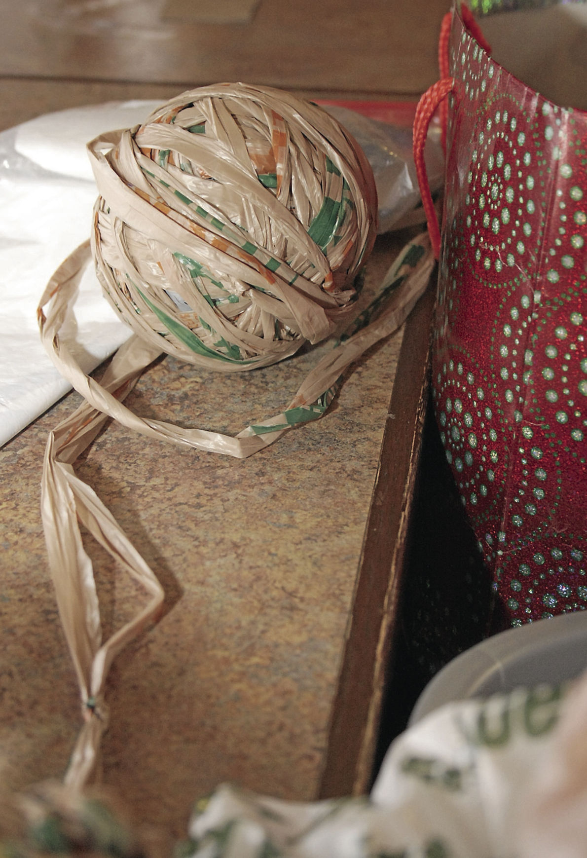 Group Crochets Recycled Plastic Bags Into Mats Lifestyle