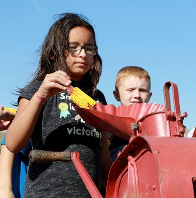 Area fourth-graders visit Legacy of the Plains for field trip