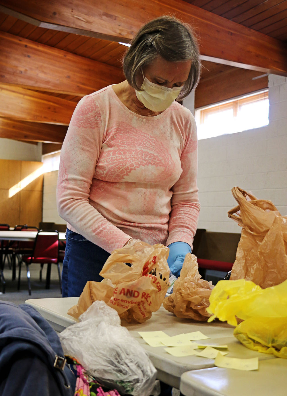 Helping out, one mask at a time: Local volunteers put crafting skills to use, making masks for health care workers