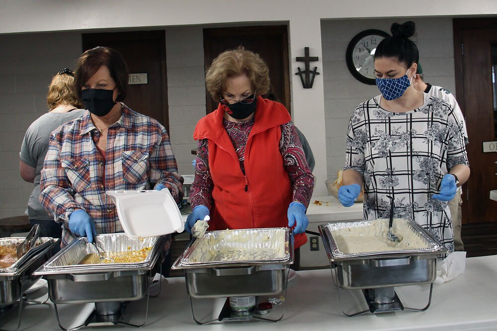 Mobile Meals Ministry serves over 300 meals every other weekend