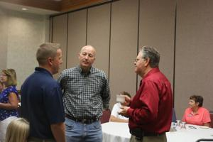 Governor Ricketts visits for Oregon Trail Days, talks budget, state patrol