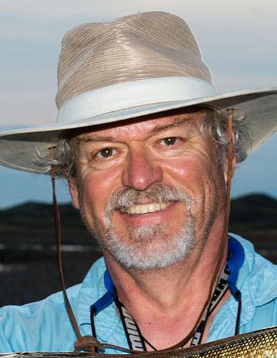 Steve Frederick fishing