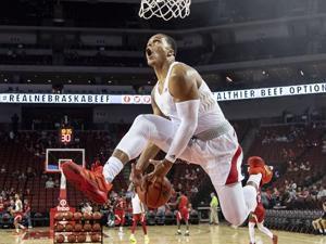 Nebraska basketball seeks immediate eligibility for transfer forward Shamiel Stevenson