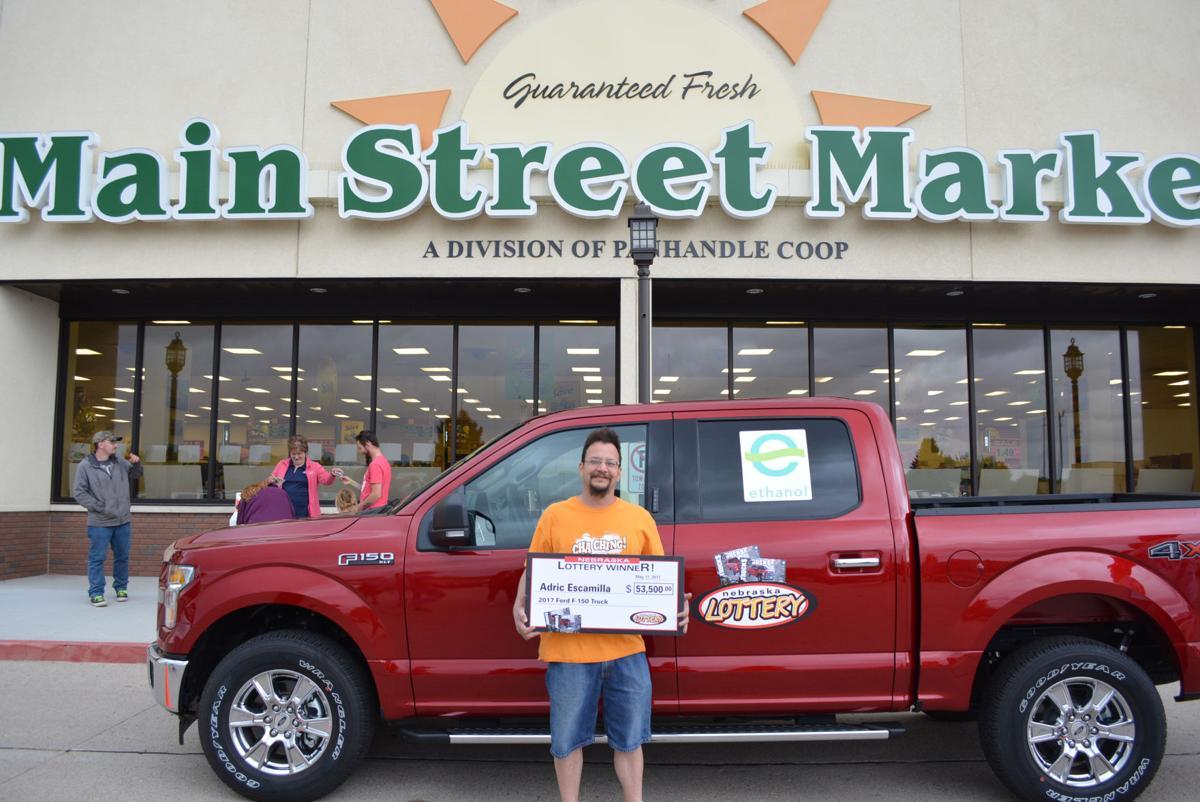 Scottsbluff man claims fourth truck in scratch game