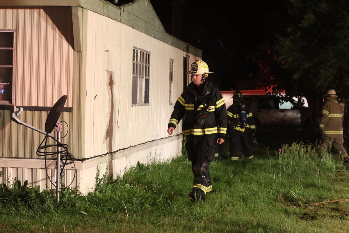 PHOTOS: Terrytown Trailer Fire